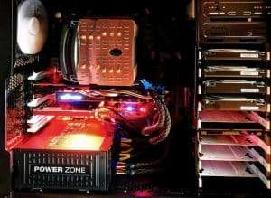 Power computer inside