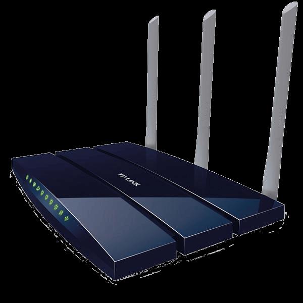 En av våra produkter - ADSL-router TP-Link