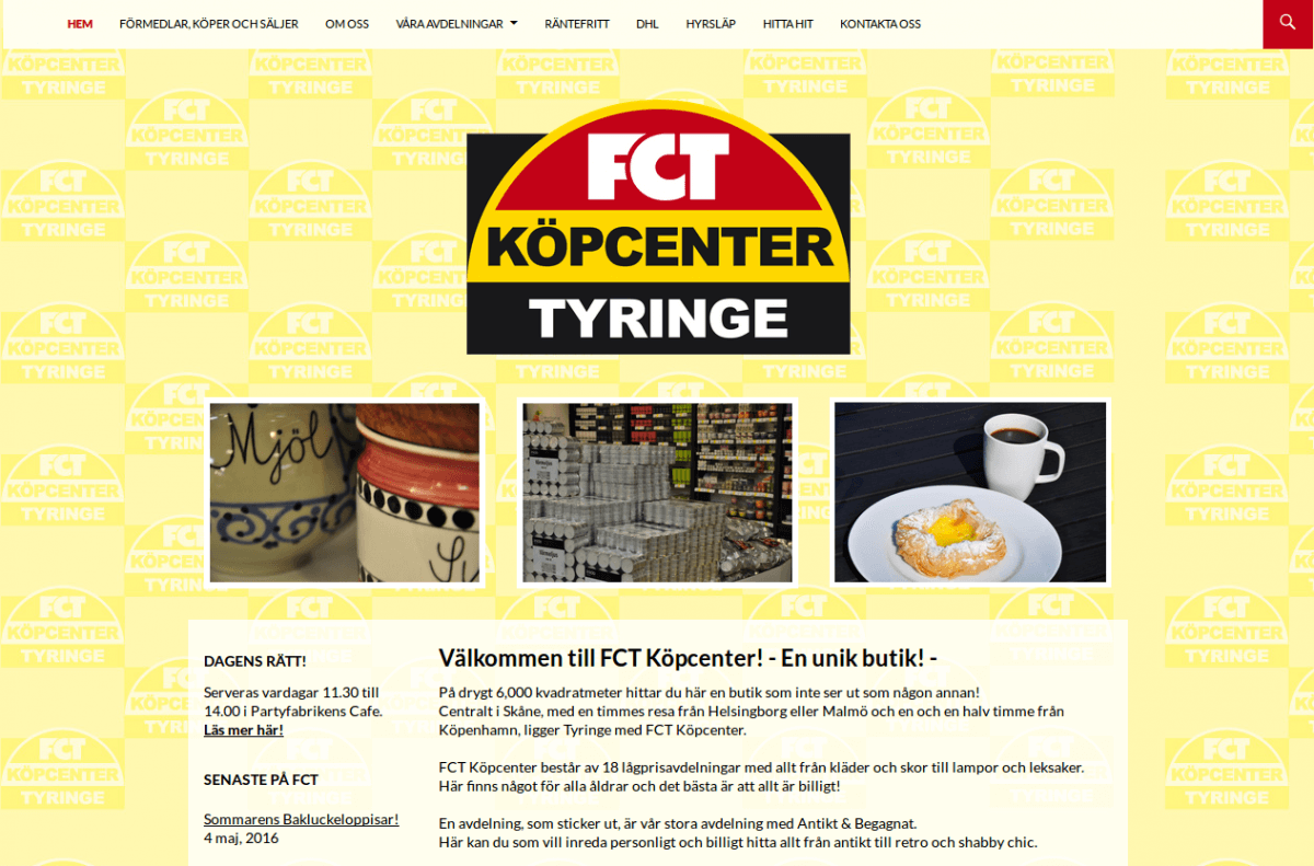 Webbsida - Förmedlingscentralen Efter
