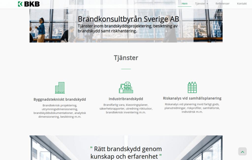 Ny hemsida till BKBAB
