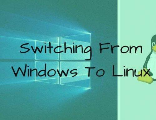 Att byta från Windows till Linux