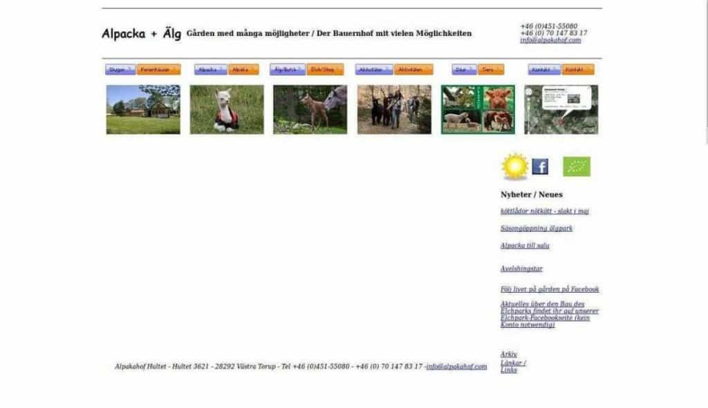 Alpaka älg & ekofarm